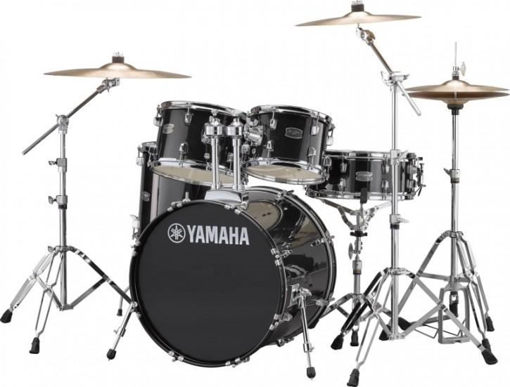 Drumset Yamaha Rydeen RDP0F5 Black Glitter(inkl. Hardware+Beckenset)