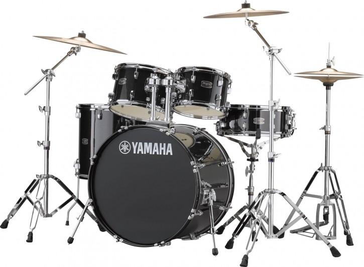 Drumset Yamaha Rydeen RDP2F5 (inkl. Hardware+Beckenset) black
