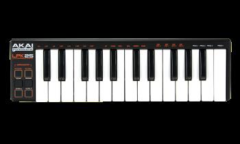 Akai LPK 25 Version 2 USB-Midikeyboard mit Minitasten