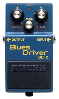 Boss BD-2 Blues Driver B-Stock