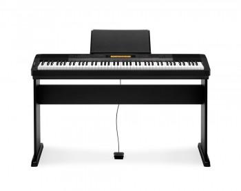 Casio CDP-230R BK Deluxe Set mit Holzstativ,Klavierbank und Kopfhörer