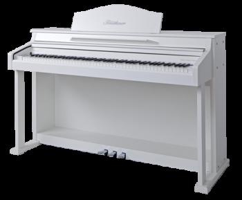 Blüthner E-Klavier E1 Folie weiss satiniert