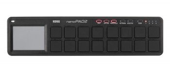 Korg nanoPAD2 schwarz - USB-MIDI Controller