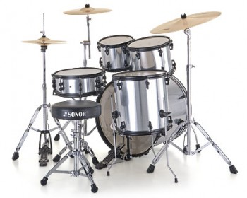 Sonor Smart Force Stage 2 Xtend Drumset SFX 11 Brushed Chrome