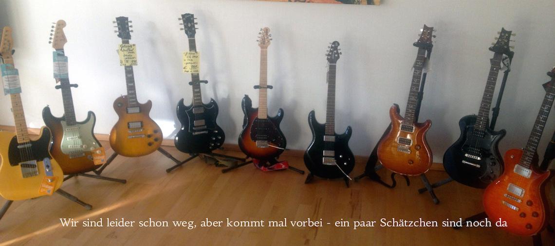 Musikhaus Get the Sound E-Gitarren