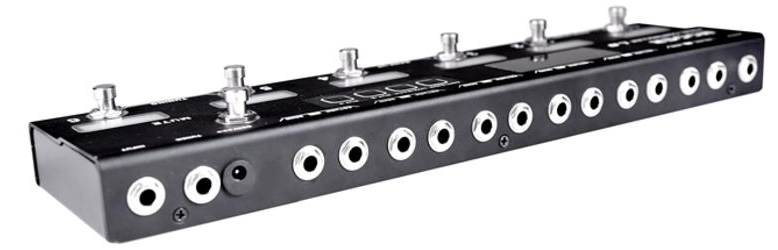 Mooer Pedal Controller Loop 6 mit Tuning