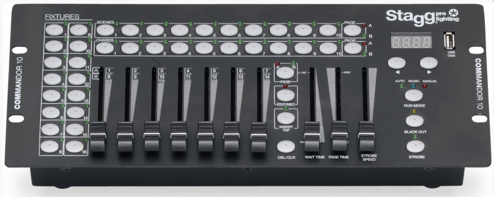 Stagg COMMANDOR 10-2 DMX Controller