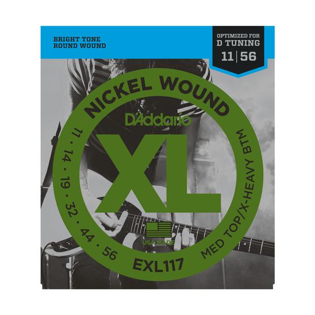 D'Addario D`Addario EXL117 Saitensatz für E-Gitarren 011-056