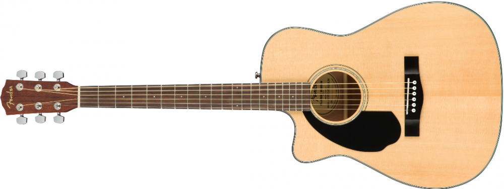 Fender CC-60SCE Concert LH, Nat WN - Linkshänder Gitarre