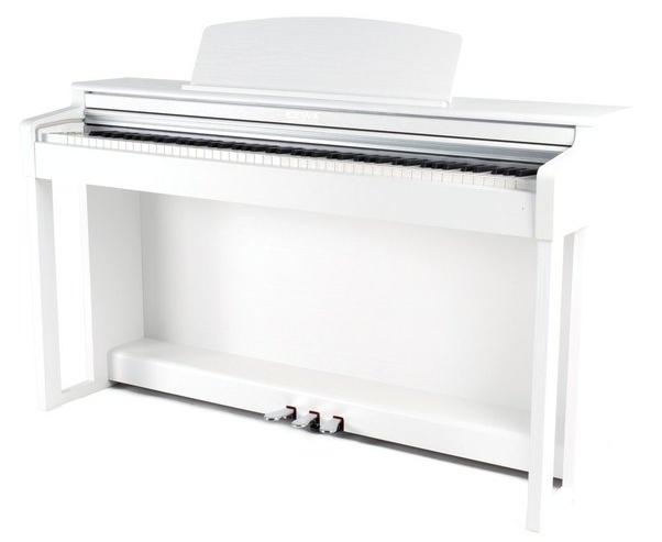 GEWA KEYS Gewa Piano UP-360 G weiß Set - Made in Germany