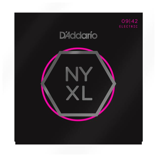 D'Addario NYXL0942 Saitensatz für E-Gitarre Super Light 009-042