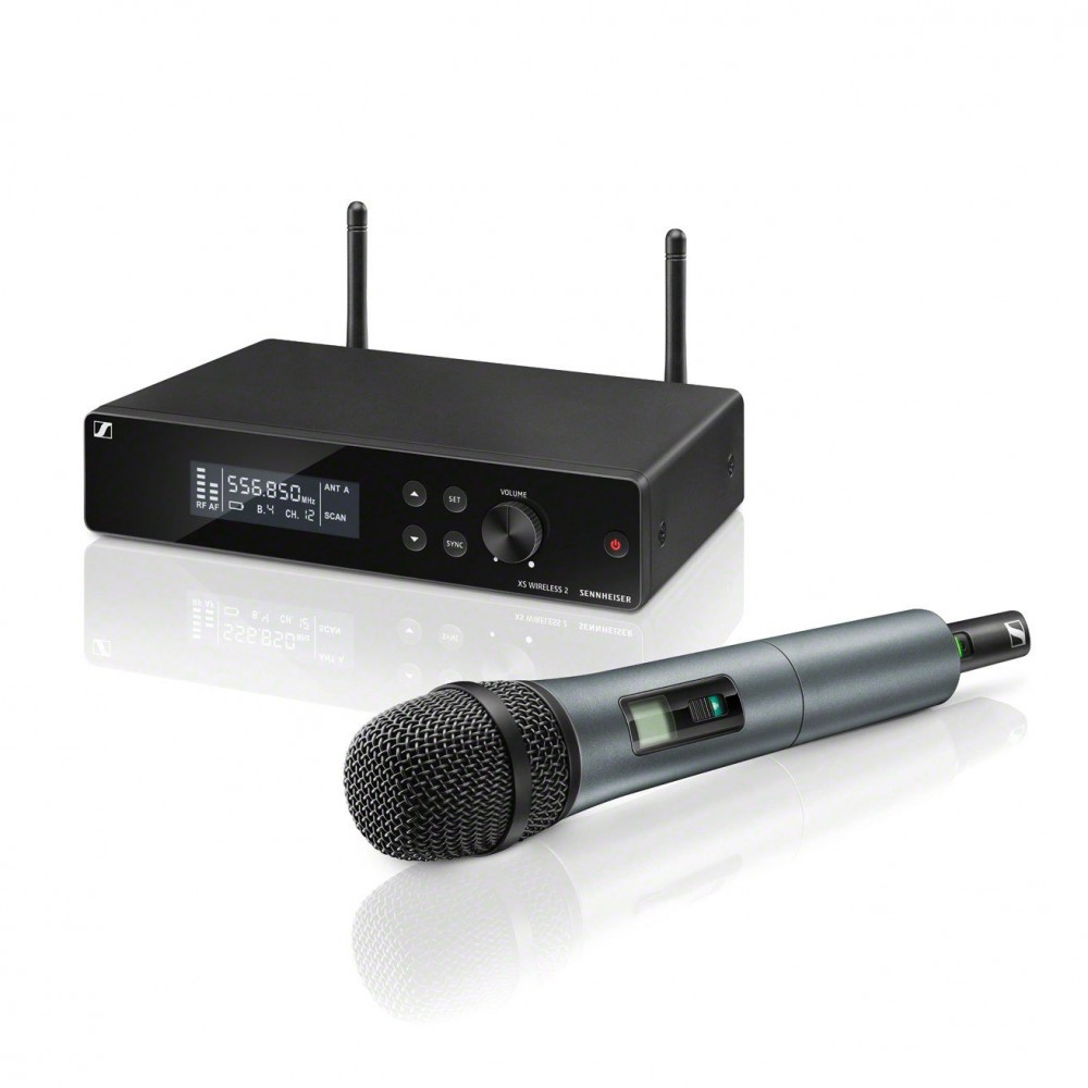 Sennheiser XSW 2-835 E Set UHF Niere + Wireless-System