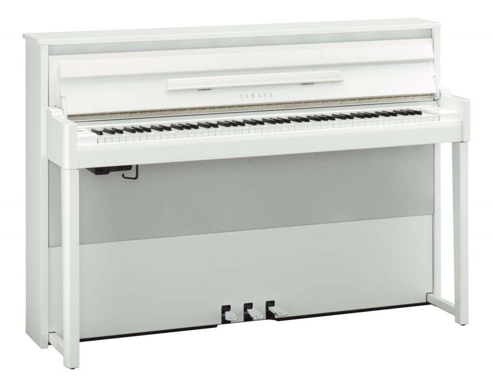 Yamaha NU-1X Avant Grand Hybrid Piano - weiß