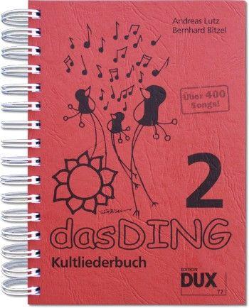 Dux Das Ding Band 2 - Kultliederbuch mit Texten und Akkordsymbolen