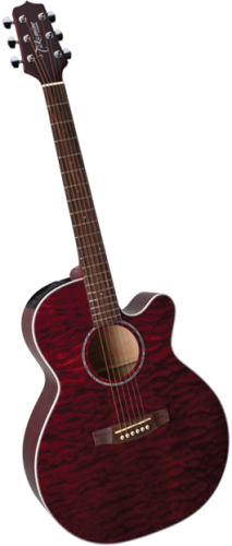 Takamine EG-440C STRQ NEX Transparent Red