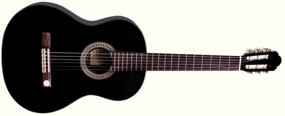 Gewa Miguel J. Almeria Guitarra Negra 4/4 Schwarz