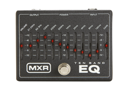 MXR 10-Band Equalizer M 108