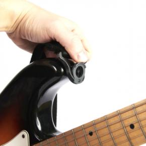 Gitarrengurt D'addario Auto Lock-Black
