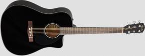Fender CD-60SCE Dreadnought Black WN