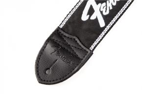 Gitarrengurt Fender Running Logo Black