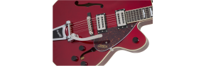 Gretsch G2420T Streamliner HLW SC mit Bigsby Candy Apple Red