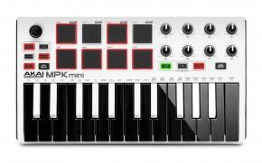 AKAI MPK Mini MKII White USB-Midi-Tastatur