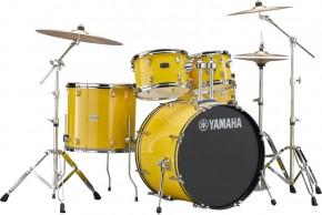 Drumset Yamaha Rydeen RDP2F5 Mellow Yellow (inkl. Hardware)