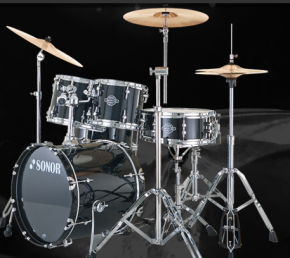 Sonor SFX 11 Studio Set WM Black Schlagzeug