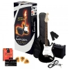 Tenson E-Gitarren ST-Special Player Pack Black